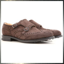Church's Monk Suede Loafers & Slip-ons