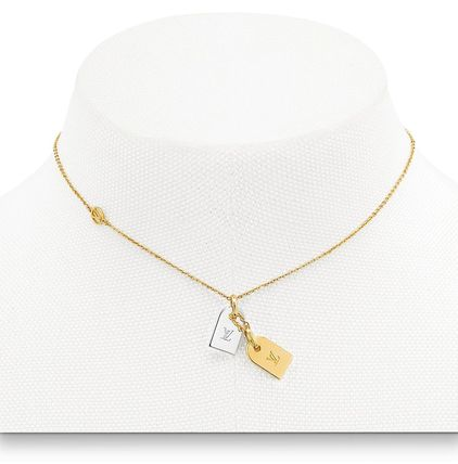 fc461be19f74f Louis Vuitton Silver Necklaces & Chokers (M63141)