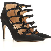 Sergio Rossi Suede High Heel Pumps & Mules