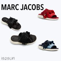 MARC JACOBS Open Toe Platform Casual Style Slippers