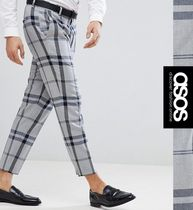 ASOS Tapered Pants Other Check Patterns Tapered Pants