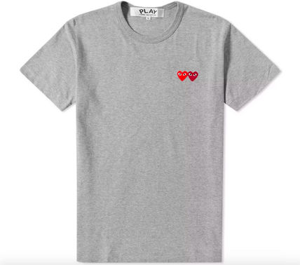 COMME des GARCONS Crew Neck Crew Neck Pullovers Heart Blended Fabrics Street Style Plain 11