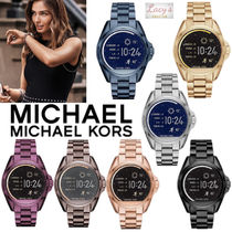 Michael Kors Casual Style Unisex Street Style Round Stainless