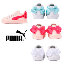 PUMA BASKET HEART Petit Street Style Kids Girl Sneakers