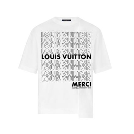 Louis Vuitton Crew Neck Crew Neck Pullovers Monogram Street Style Bi-color Cotton 6