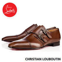 Christian Louboutin Straight Tip Loafers Plain Leather Loafers & Slip-ons