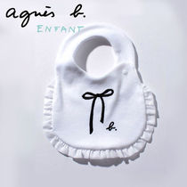 Agnes b Organic Cotton Baby Girl Bibs & Burp Cloths