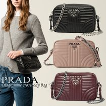 PRADA DIAGRAMME PRADA Shoulder Bags