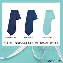 Tiffany & Co Silk Plain Ties