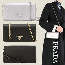 PRADA SAFFIANO LUX PRADA Long Wallets