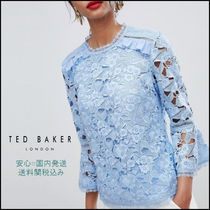 TED BAKER Cropped Plain Medium Elegant Style Shirts & Blouses