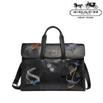 Coach 2WAY Leather Business & Briefcases