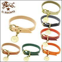 IL BISONTE Bangles Plain Leather Bracelets