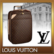 Louis Vuitton MONOGRAM Unisex TSA Lock Carry-on Luggage & Travel Bags