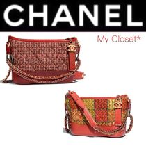 CHANEL ICON Other Check Patterns Street Style 3WAY Chain Plain