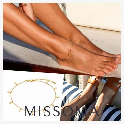 Costume Jewelry Unisex Chain Elegant Style Anklets