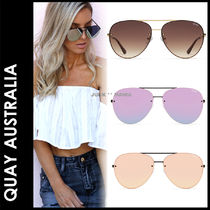 Quay Eyeware Australia Tear Drop Sunglasses