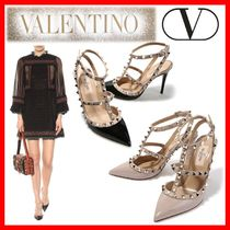 VALENTINO Street Style Elegant Style Pumps & Mules