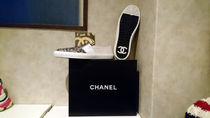 CHANEL Suede Loafers & Slip-ons