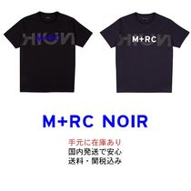 MRC NOIR Street Style U-Neck Short Sleeves T-Shirts