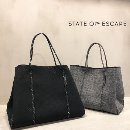 Casual Style Unisex Bag in Bag A4 Plain Oversized Totes