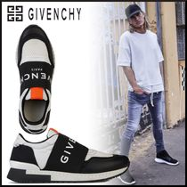 GIVENCHY Blended Fabrics Street Style Leather Sneakers