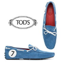 TOD'S Driving Shoes Suede Loafers & Slip-ons