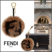 FENDI Fur Plain Bags