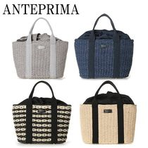 ANTEPRIMA Casual Style Plain Straw Bags