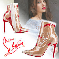 Christian Louboutin Pin Heels PVC Clothing Ankle & Booties Boots