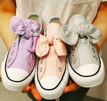 CONVERSE ALL STAR Rubber Sole Casual Style Street Style Plain Low-Top Sneakers