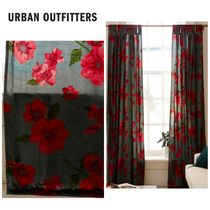 Urban Outfitters Flower Patterns Curtains