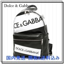 Dolce & Gabbana Street Style A4 Backpacks