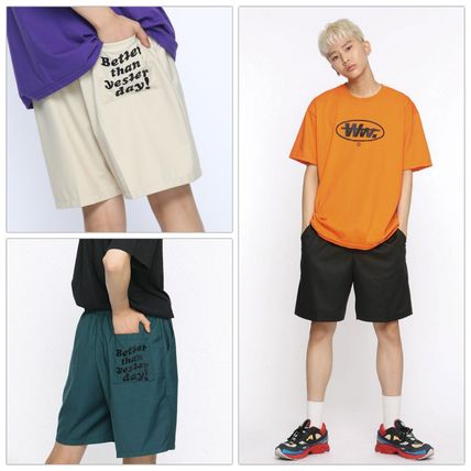 Street Style Cotton Shorts [DUCKDIVE] BTSD SHORT PANTS