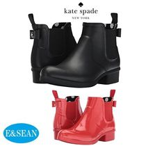 kate spade new york Casual Style Plain Rain Boots Boots