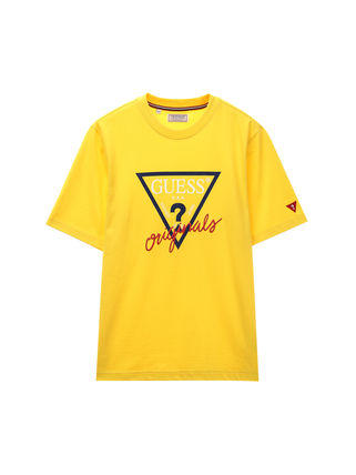 Guess More T-Shirts Unisex U-Neck Cotton Short Sleeves T-Shirts 4