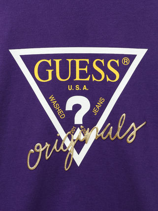 Guess More T-Shirts Unisex U-Neck Cotton Short Sleeves T-Shirts 8