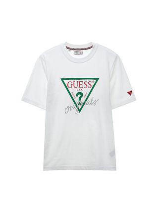 Guess More T-Shirts Unisex U-Neck Cotton Short Sleeves T-Shirts 10
