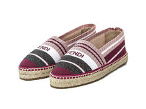 FENDI Stripes Casual Style Plain Low-Top Sneakers
