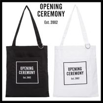 OPENING CEREMONY Unisex Cambus A4 2WAY Totes