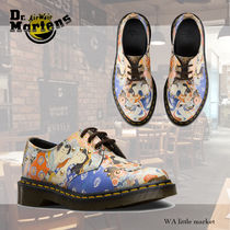 Dr Martens Lace-up Unisex Street Style Leather Lace-up Boots