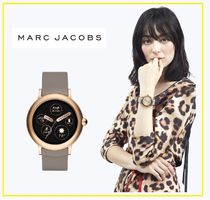 MARC JACOBS Street Style Silicon Round Mechanical Watch Elegant Style
