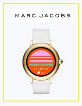 MARC JACOBS Street Style Silicon Round Elegant Style Digital Watches