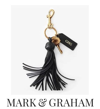 Street Style Leather Fringes Keychains & Bag Charms