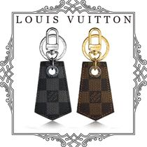 Louis Vuitton DAMIER Unisex Street Style Leather Keychains & Holders