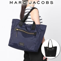 MARC JACOBS Casual Style Nylon A4 Plain Totes
