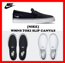 Nike Rubber Sole Casual Style Unisex Street Style Slip-On Shoes