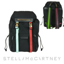 Stella McCartney FALABELLA Casual Style Unisex Bag in Bag Chain Backpacks