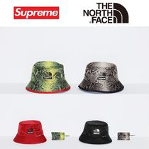 Supreme Unisex Street Style Collaboration Straw Hats
