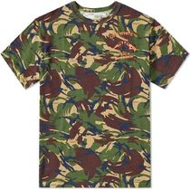 Off-White Camouflage Cotton T-Shirts